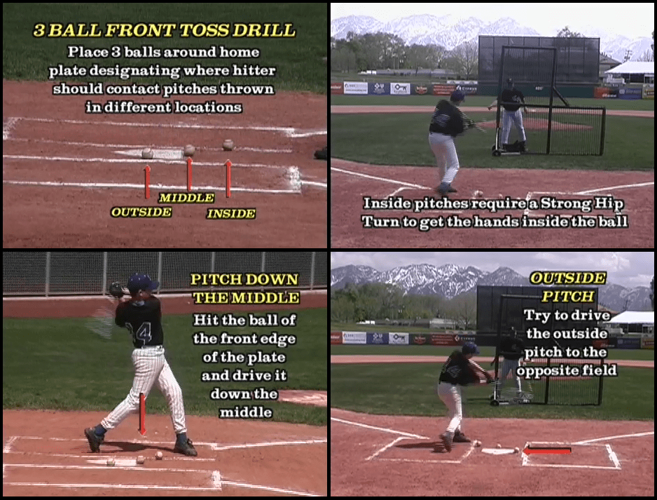 baseball swing drills youth 2