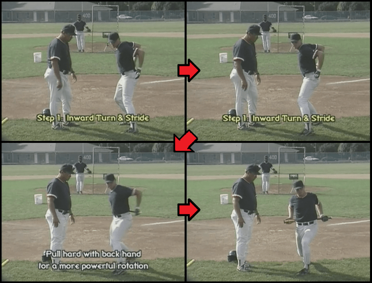 Bat Behind the Back Baseball Drill