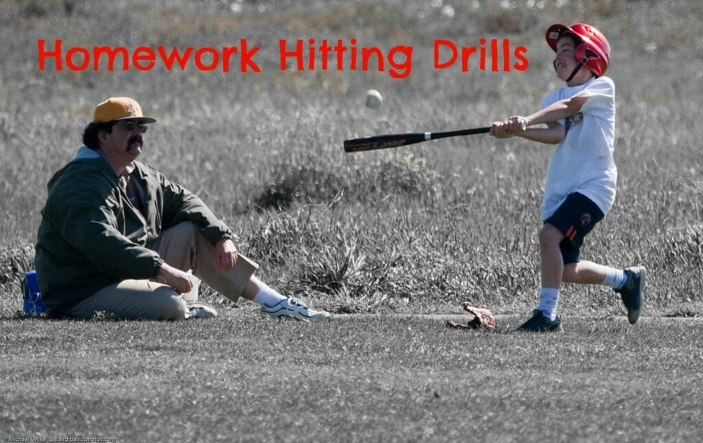 baseball drills for hitting