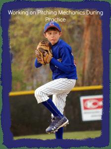 pitching baseball practice