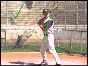 baseball coaching stance