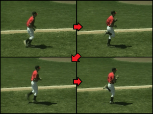 glute kicks exercise for kids baseball