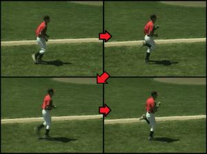 glute kicks exercise for kids baseball