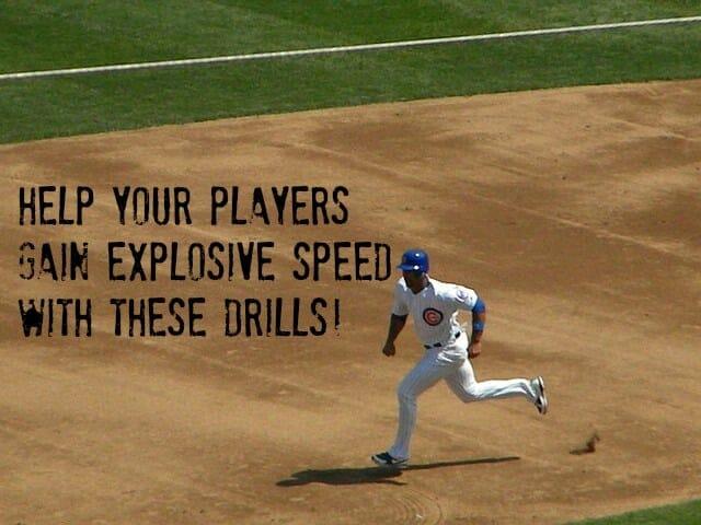 fast baseball drills