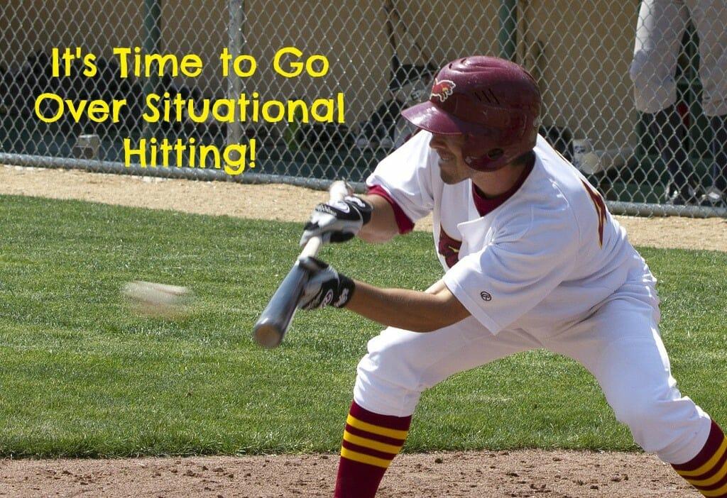 hitting baseball practice