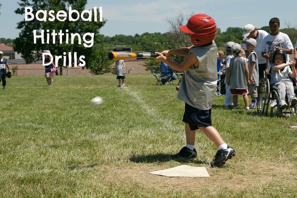 kids baseball drills for hitting