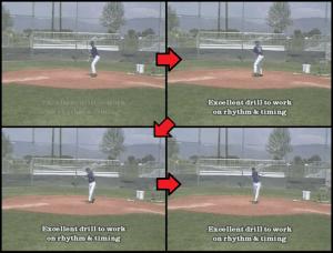 fungo baseball hitting drill