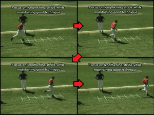 1 3 5 Out youth baseball drill