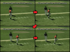 alternating sides youth baseball drill