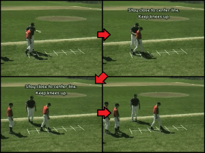 duck waddle youth baseball drill