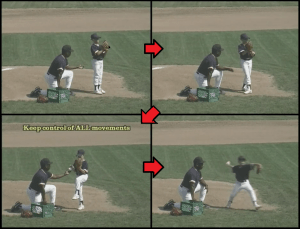 balance baseball pitching drill