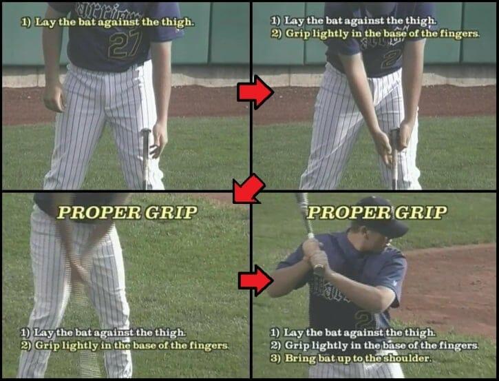 kids baseball grip
