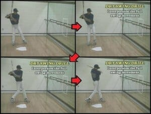 Dry Swing Hitting Drills