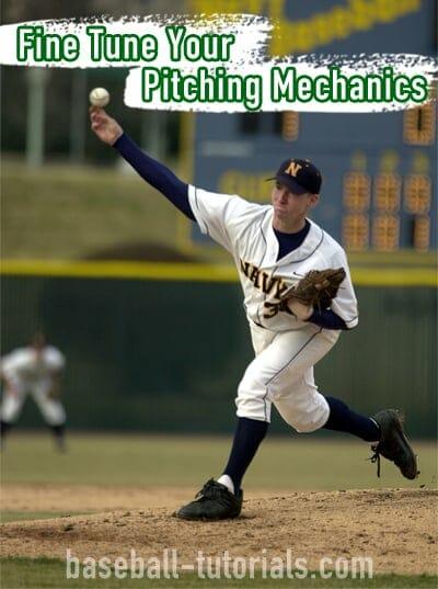 Fine Tune Your Pitching Mechanics - Baseball Drill