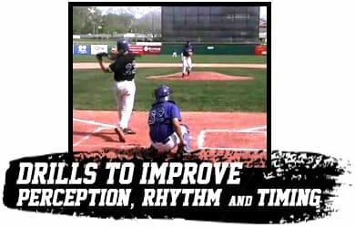 Baseball Hitting Drills to Improve Perception, Rhythm, and Timing