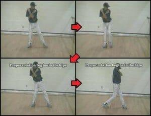 Stride Drill - Mirror Hitting Drills