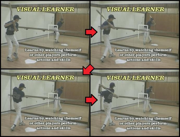 Baseball Hitting Drills using a Mirror