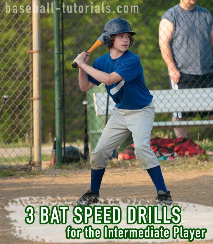 3 bat speed drills