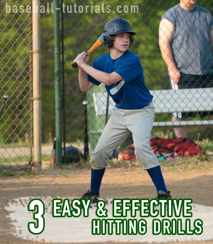 3 Easy And Effective Hitting Drills To Increase Bat Speed