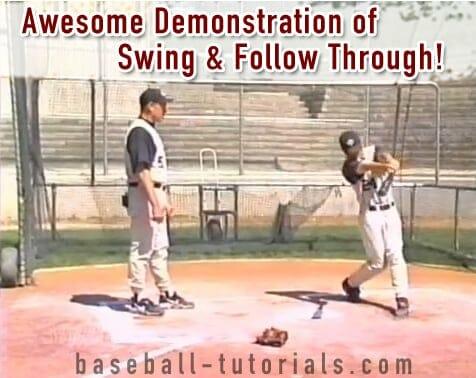 baseball bat swing