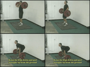 baseball strength training 2 squats