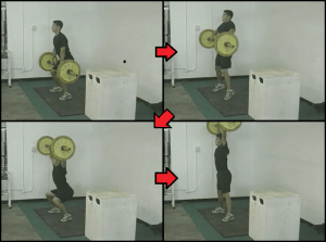baseball strength training 4 hanging snatch 2
