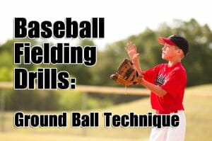 baseball fielding ground ball
