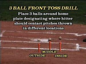 3 ball hitting drill