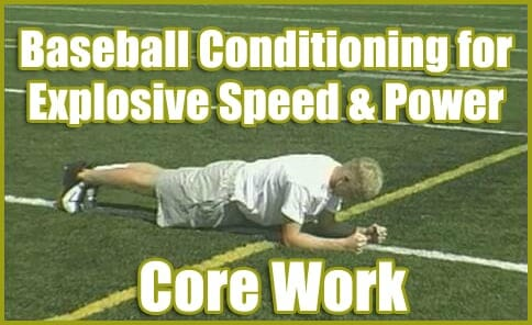 baseball conditioning core