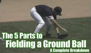 fielding drill breakdown