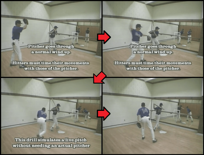 stance and balance hitting drill 1