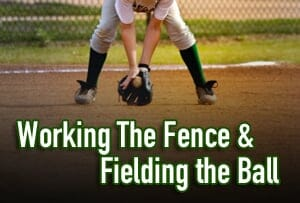 working the fence