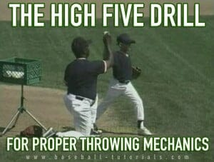 throwing mechanics high five