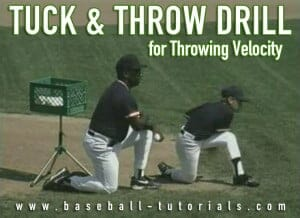 tuck throwing drill