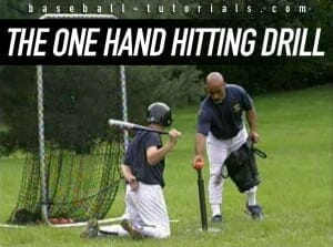 one hand hitting drill