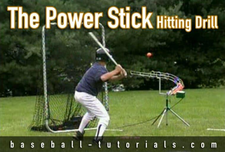 power stick hitting drill