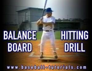balance board hitting drill