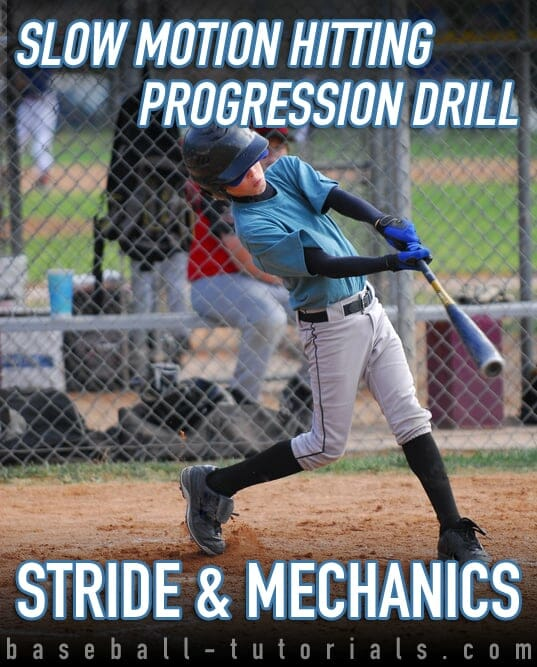 slow motion hitting progression drill