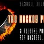 hockey puck baseball pitching drill