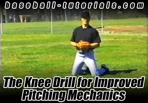knee drill for pitching mechanics
