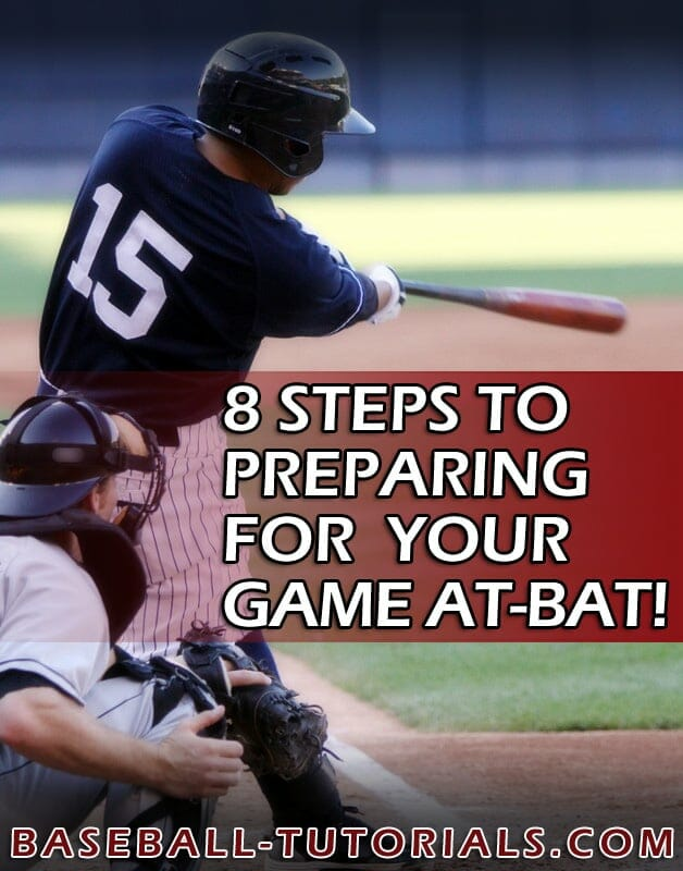 BASEBALL HITTING TIPS 8 STEPS