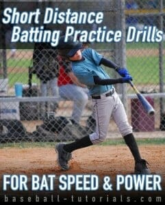 short distance batting practice drills