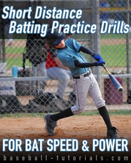 short distance batting practice drills
