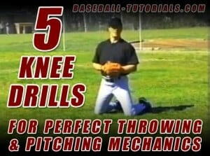 5 knee drills for pitching mechanics
