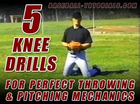 5 knee drills for pitching mechanics
