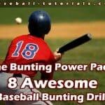8 baseball bunting drills