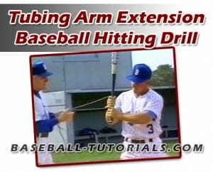 BASEBALL HITTING TUBING DRILLS