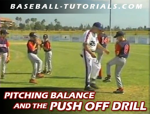 pitching pushoff drill part 1 B