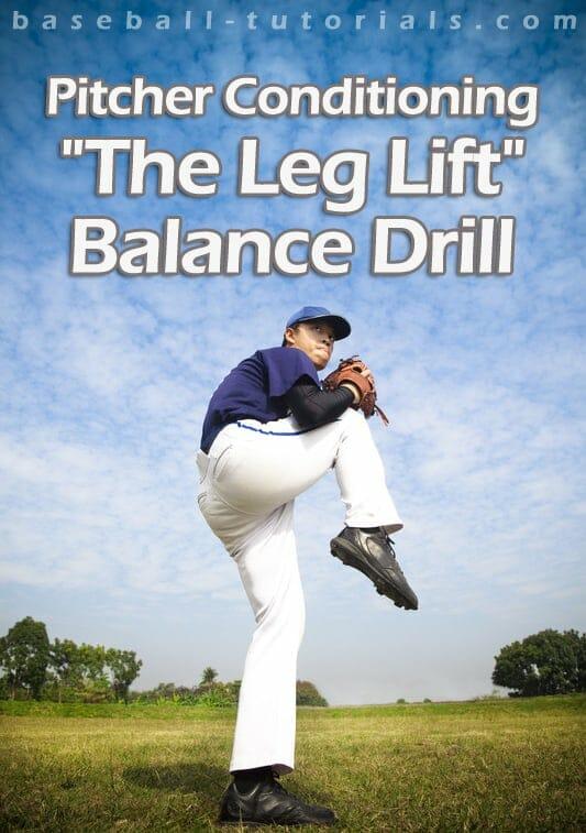 baseball pitcher conditioning balance drill