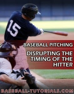 baseball pitching disrupting timing